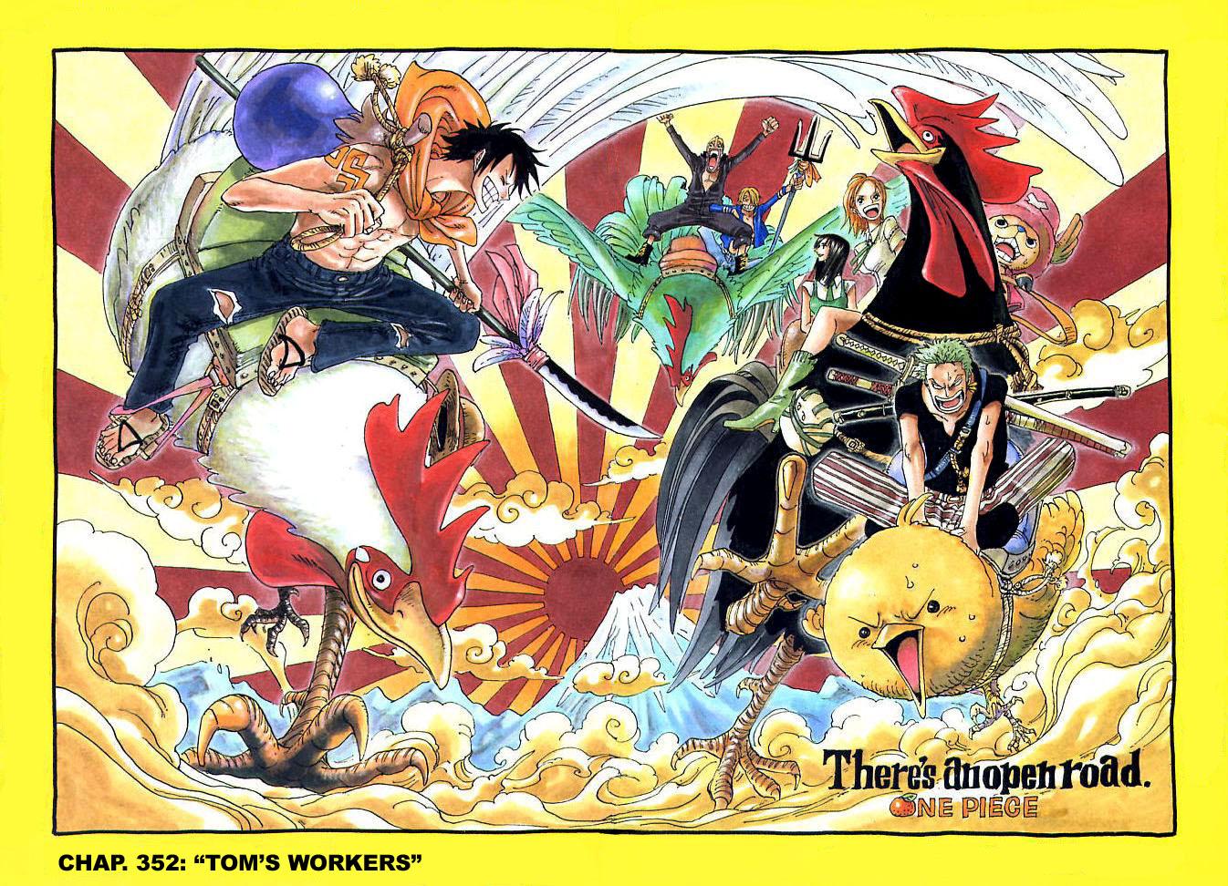 One Piece - La Volonté du D : Galerie couleur 5